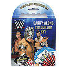 WWE CarryAlong Colouring Set
