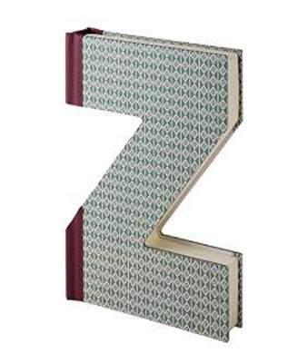 Alpha Notebook - Letter Z