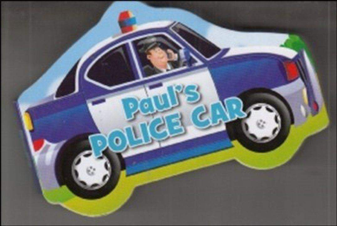 Shape Vehicle Books in CDU Paul Police Car
