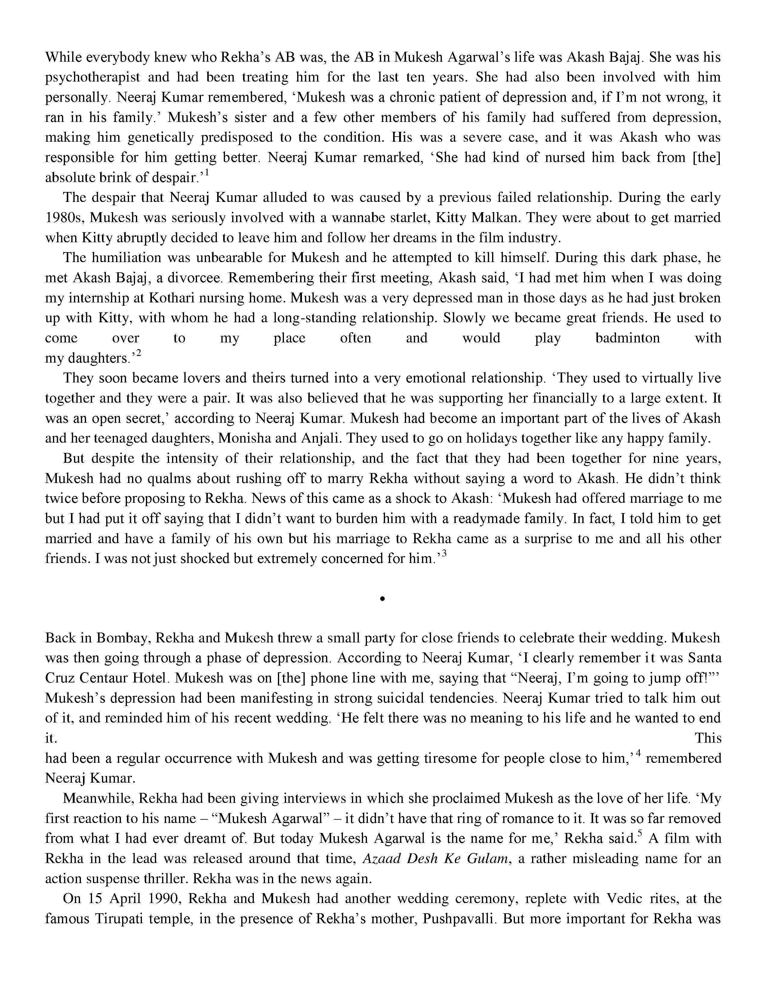 Rekha: The Untold Story By : Yasser Usman